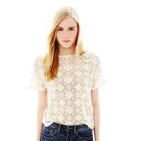 Joe Fresh™ Lace Tee