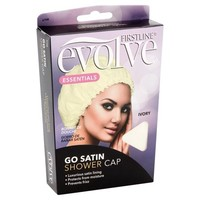 Evolve Go Satin Shower Cap, Ivory - Walmart.com