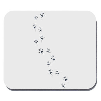 Mouse Tracks Mouse Pad