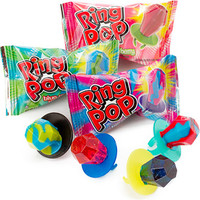 Assorted Ring Pop Candy: 40-Piece Tub