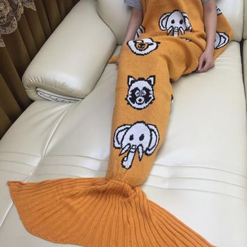 2018 Original Mermaid Party to Be Adored Blanket Autumn&Winter Gift