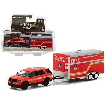 2016 Ford Explorer Official Fire Department NYC&Special Operations 1:64