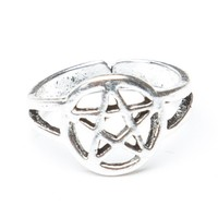 Brandy ♥ Melville |  Pentagram Star Knuckle Ring - Just In