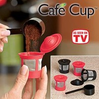 Café Cup™ Reusable Coffee Pod @ Fresh Finds