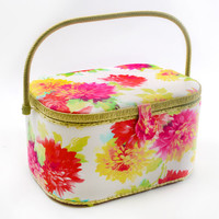 Sewing Basket Extra Large Oval- Mums Print at Joann.com