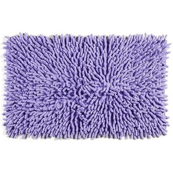 Cotton Chenille Bath Rugs | Violet