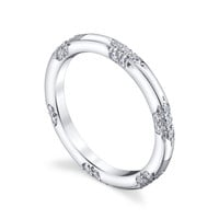 Petite Crown Lace Band - Michael B. Jewelry