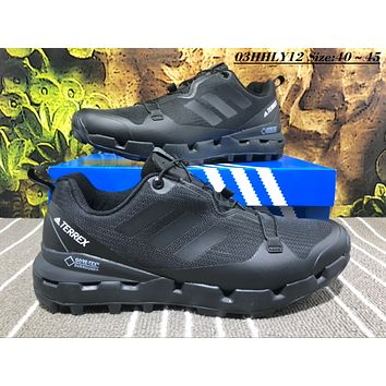 KUYOU A453 Adidas Terrex Gore Men Casual Sneakers Black