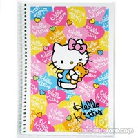 Hello Kitty Spiral Blank Notebook : Heart $4.50