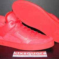 Louis Vuitton x Kanye West Dons Red