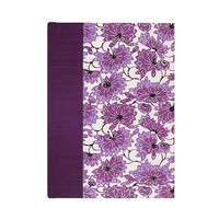 Journal Blank Paper Plum Lotus