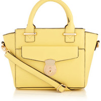 Mini Pocket Handheld Bag | Yellow | Accessorize