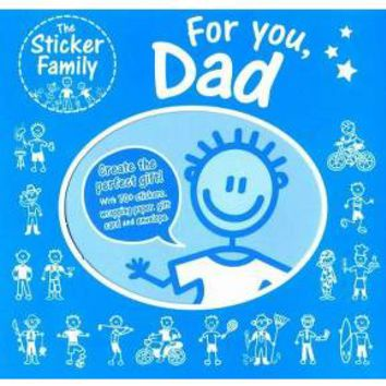 The Sticker Family For You, Dad (Paperback)
