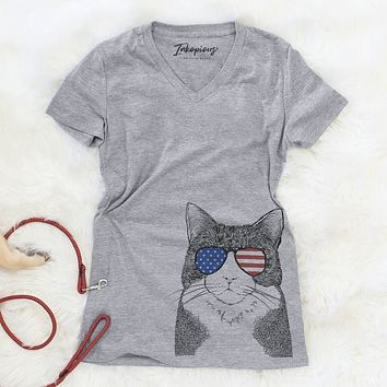 Tux the Tuxedo Cat  - USA Patriotic Collection