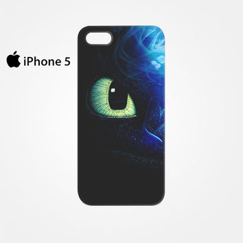 One Eyes Night Furry How Do You Train The Dragon for Iphone 4/4S Iphone 5/5S/5C Iphone 6/6S/6S Plus/6 Plus 3D Phone case