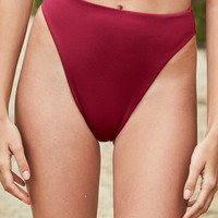 LA Hearts High Cut Bikini Bottom at PacSun.com