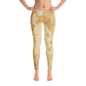 Vintage Leggings - Tan
