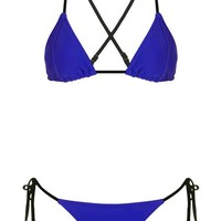 Bonded Triangle Bikini Top - Swimwear & Beachwear - Clothing