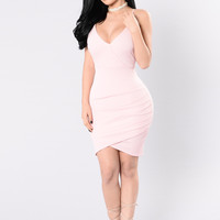 Navigate Me Dress - Pink