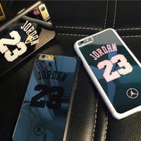 NBA brand Michael Jordan 23 PC Hard Mirror Phone Cases for iPhone 5 5s 6 6 plus