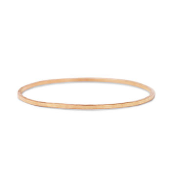 Threadbare Ring, Rose Gold - Rings - Catbird