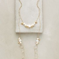 Polistes Layer Necklace by Anthropologie in Gold Size: One Size Necklaces