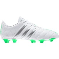 adidas Women's 11Questra FG Soccer Cleats - White/Green/Grey | DICK'S Sporting Goods