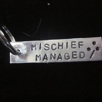 Custom Hand Stamped Aluminum Key Chain The by LaurenElaineDesigns