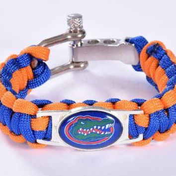 College - Florida Gators Custom Paracord Bracelet