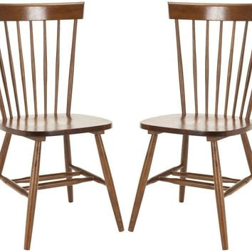 Parker Spindle Dining Chair (Set Of 2) Natural