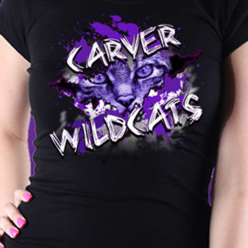 Eye Of The Carver Wildcats T-Shirt