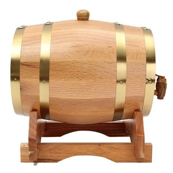 10L Wine Barrels Brewing Equipment Whisky Red Wine Oak Barrel Keg Wine Spirits Port Liquor Wood French Toasted Bar Tools