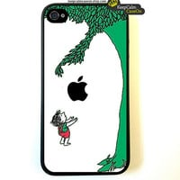 iPhone 4 Case The Giving Tree Fitted Case For by KeepCalmCaseOn
