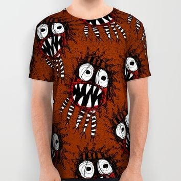 SPAWN OF MONSTER [CHOC.] All Over Print Shirt by Matthew White