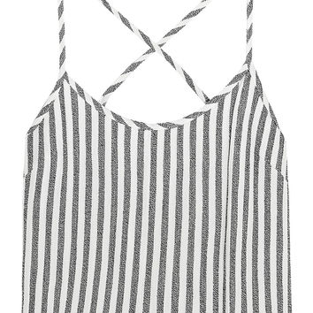 Saffron striped twill camisole | Kain | US | THE OUTNET