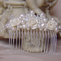 Stunning Antheia hair comb by WestlakeJDesigns on Etsy