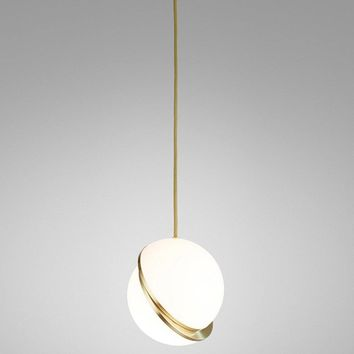 Crescent Pendant Lamp  - Reproduction