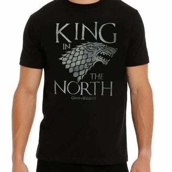 GAME OF THRONES KING IN THE NORTH T-SHIRT