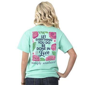 "Youth Simply Southern ""Let All"" Short Sleeve Tee"