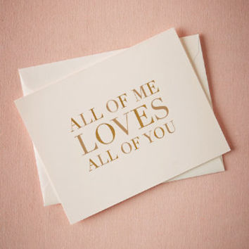 All Of Me Card