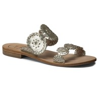 Lauren Sandal in Platinum by Jack Rogers