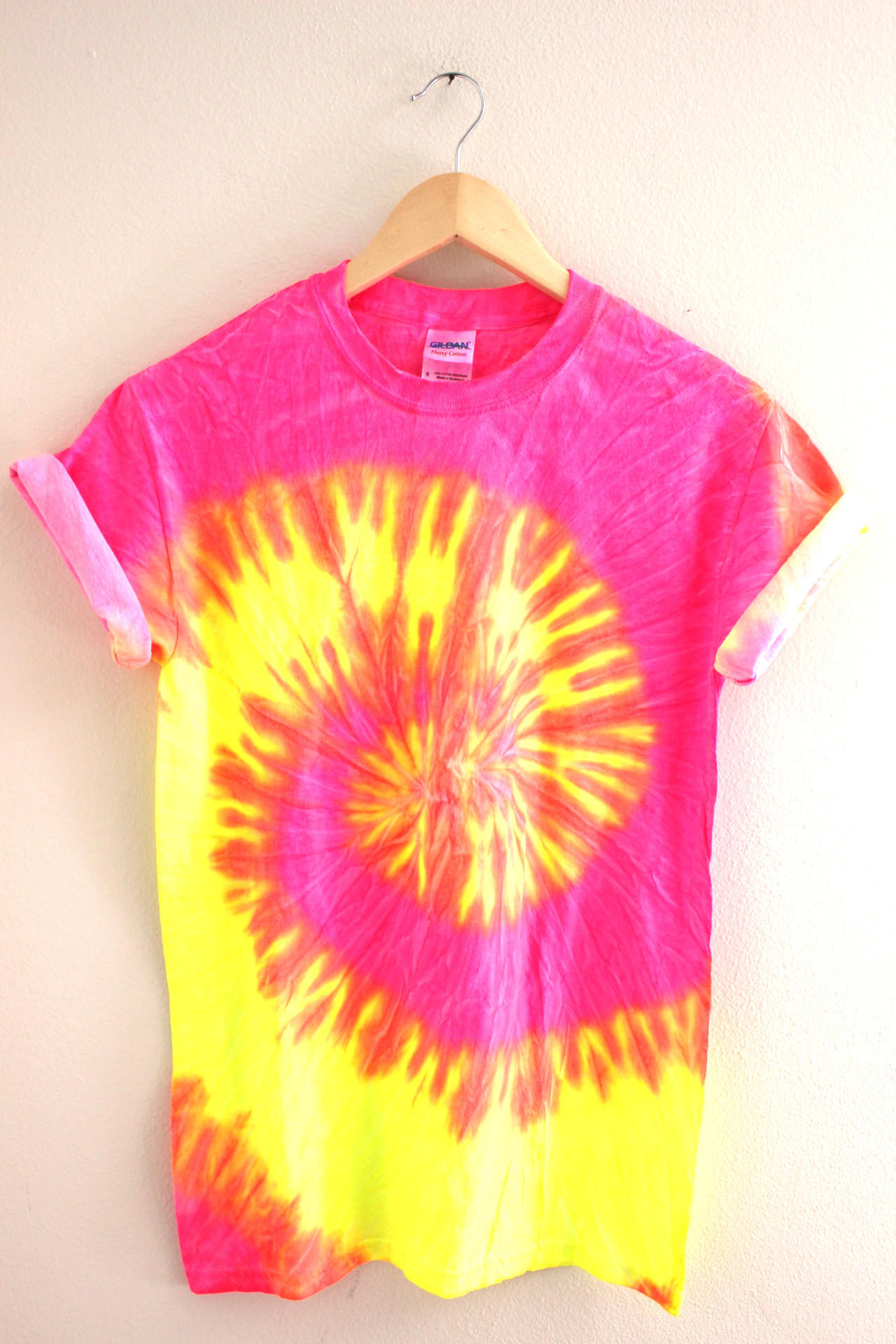 Tropical neon tie dye unisex tee from era of artists shirts - Tie and dye colore ...