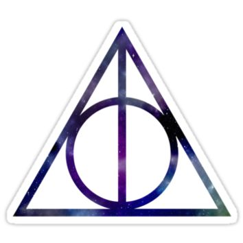 Harry Potter and the Deathly Hallows // triangle by hocapontas