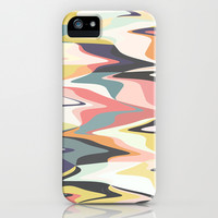 Deco Marble iPhone & iPod Case by Beth Thompson