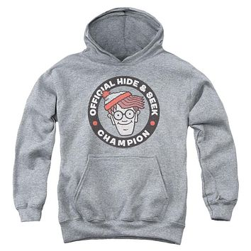 Where's Waldo Champion Youth Pullover Hoodie