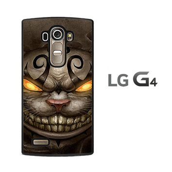 Alice Madness Returns Cheshire Cat Z0999 LG G4 Case