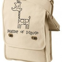 Master of Disguise Mustache Field Bag