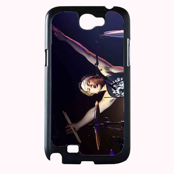 drummer 5sos 044aee80-598c-4ab1-9cf1-6a5264202585 FOR SAMSUNG GALAXY NOTE 2 CASE**AP*