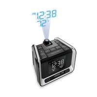 HoMedics® Sleep Station Projection Weather Alarm Clock