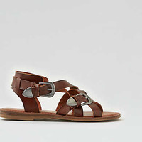 AEO Western Buckle Sandal , Brown